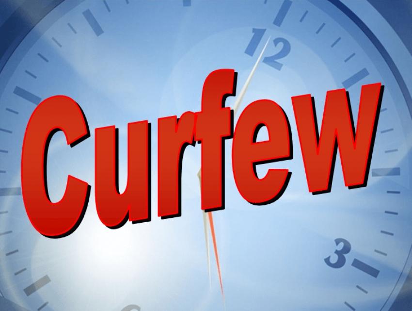 Curfew declared till furter notice