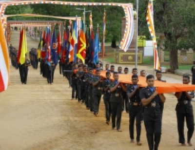Multi Religious Flag Blessings for the 69th Army Day