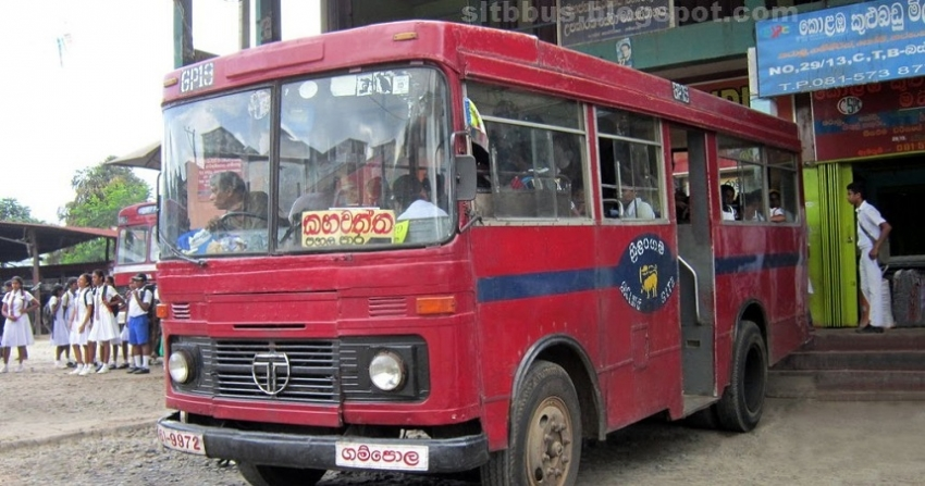 Special bus services from today