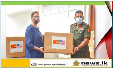 United States Donates Safety Equipment for Sri Lanka's Frontline Responders to COVID-19