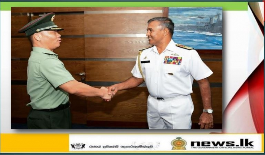 Defence Attaché of Embassy of People's Republic of China visits Naval Headquarters