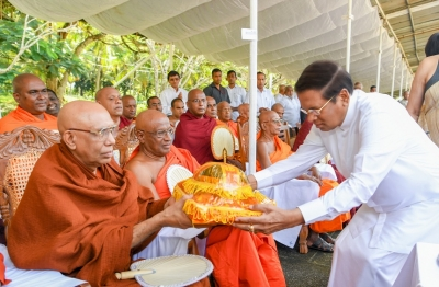 60th Bandaranaike commemoration held under the patronage of President
