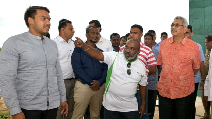President inspects National Solid Waste Management Support Centre