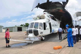 SLAF Deploys an Aviation Unit Under UN Mission in Central African Republic
