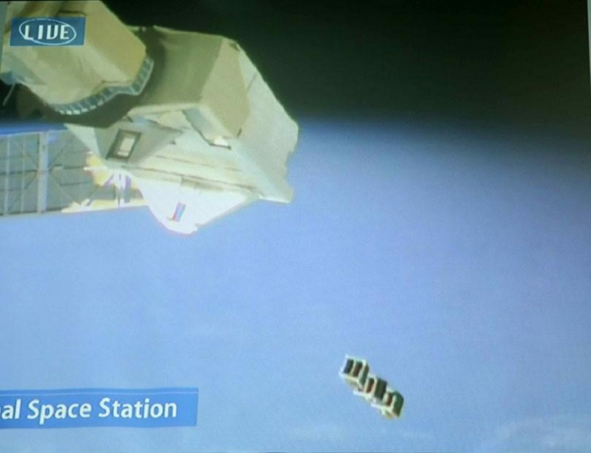 Sri Lanka's first satellite 'Raavana 1' launched into orbit