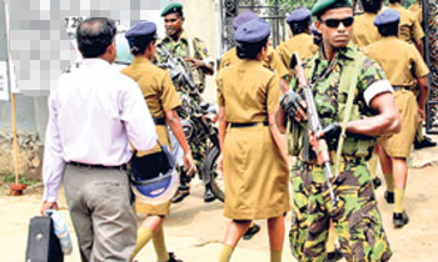 Heavy security today with 65,758 cops and 41,178 STF men