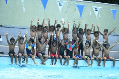 Nalanda Swimming  Tournament held with achievements