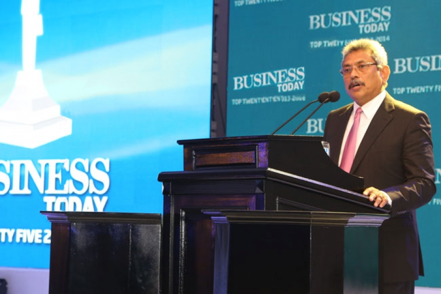 Speech by Secretary Defence at Business Today Top 25 Companies Awards Ceremony on Nov.20, 2014