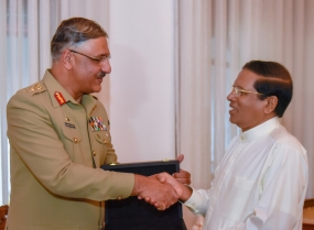 Pakistan Joint Chief of Defense Staff meets President