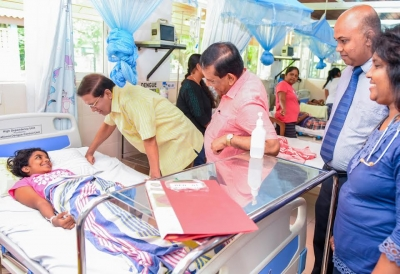 President visits IDH Hospital