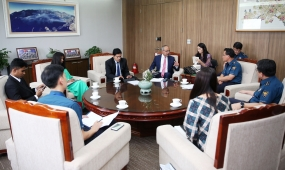 The Minister of Youth Affairs discusses cooperation and skills development in Korea