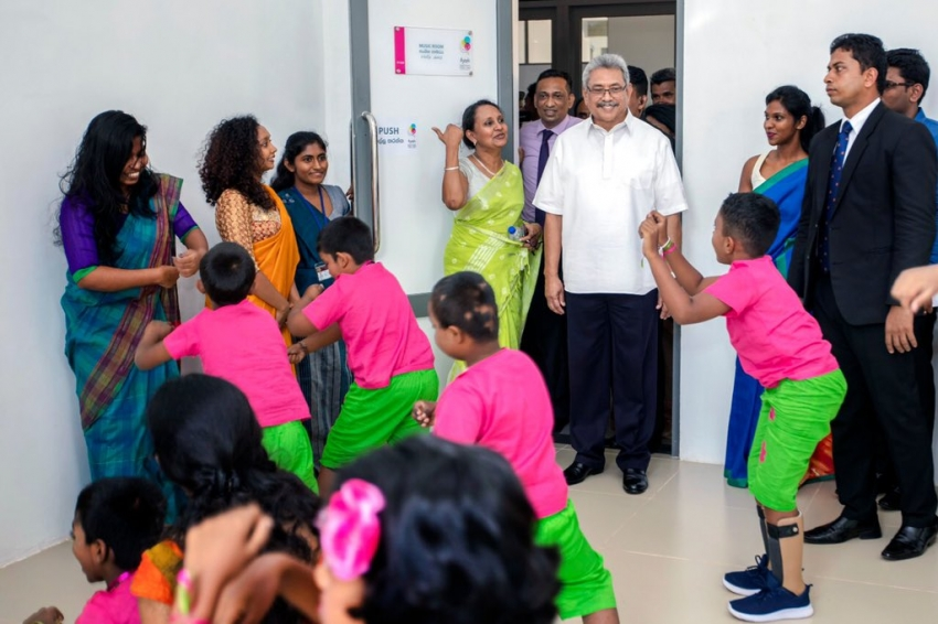 """President says I was privileged to declare open """"Ayati Centre"""" first National Centre for differently-abled children"""