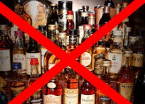 Stern action against anyone who sells alcohol during Vesak