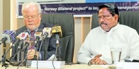 Norwegian vessel to research in Lankan territorial waters