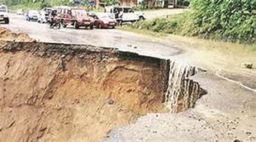 Heavy rains batter the country