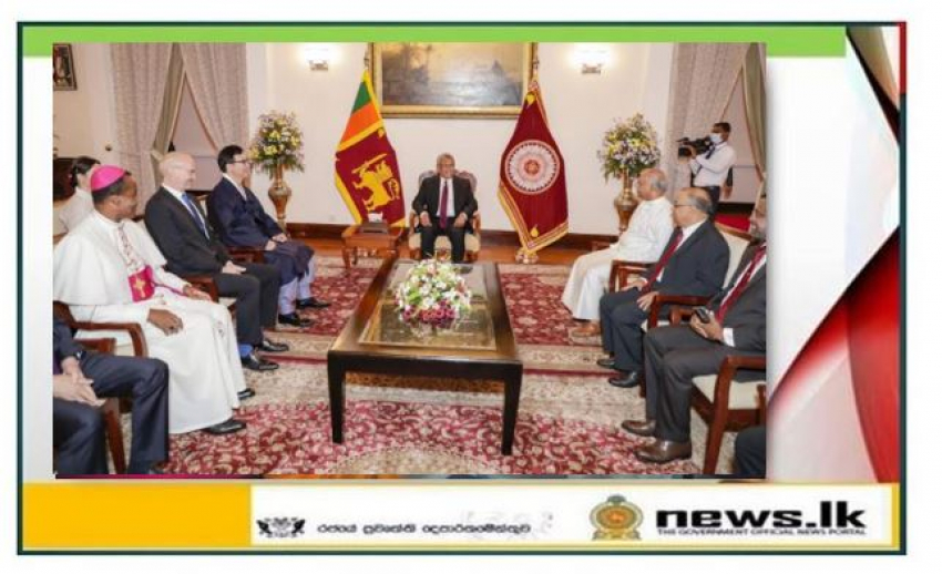 Sri Lanka's foreign policy based on neutrality: development cooperation is our top most priority – President tells new envoys