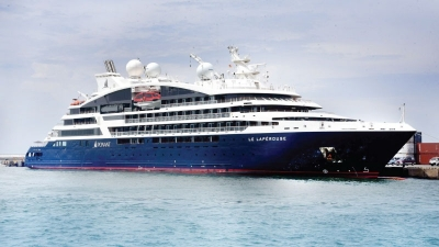 Luxury vessel MS Le Laperouse calls Colombo