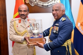 Chief of Defence Staff bids farewell to tri forces and police