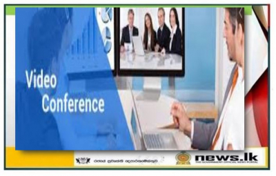 Video Conference on prospects of business opportunities in Sri Lanka  for Indian companies