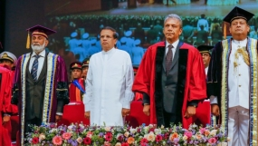 President at Kotelawala Defence University Convocation