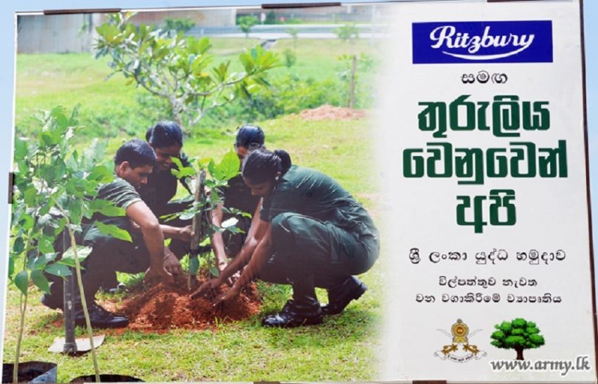Reforestation as Tribute to National War Heroes' Commemoration