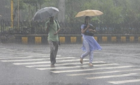 More than 100mm Heavy showers at some places