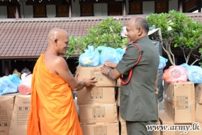 'Sahana Yathra' Relief Project Receives Army Support