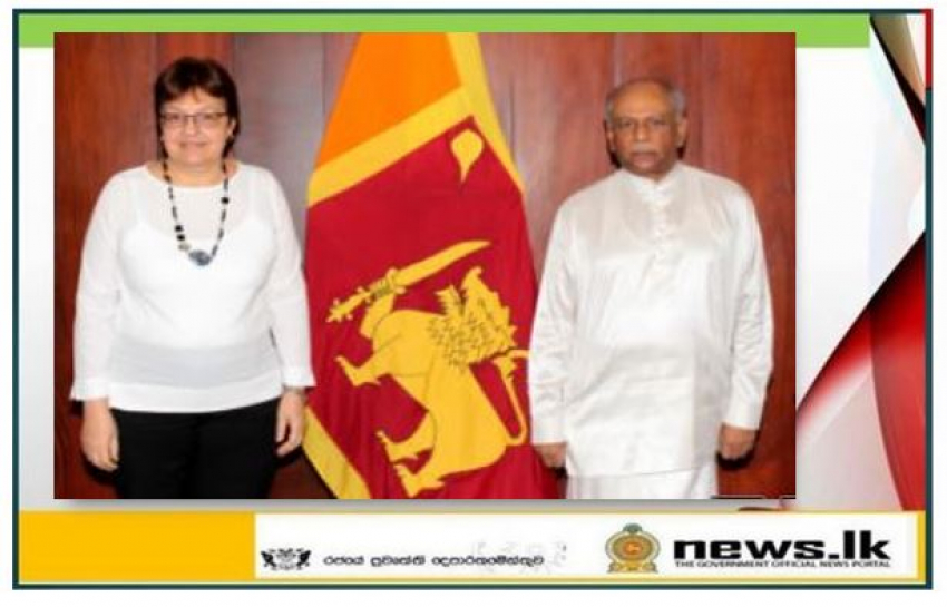 The Cuban Ambassador meets with the Sri Lankan Foreign Minister
