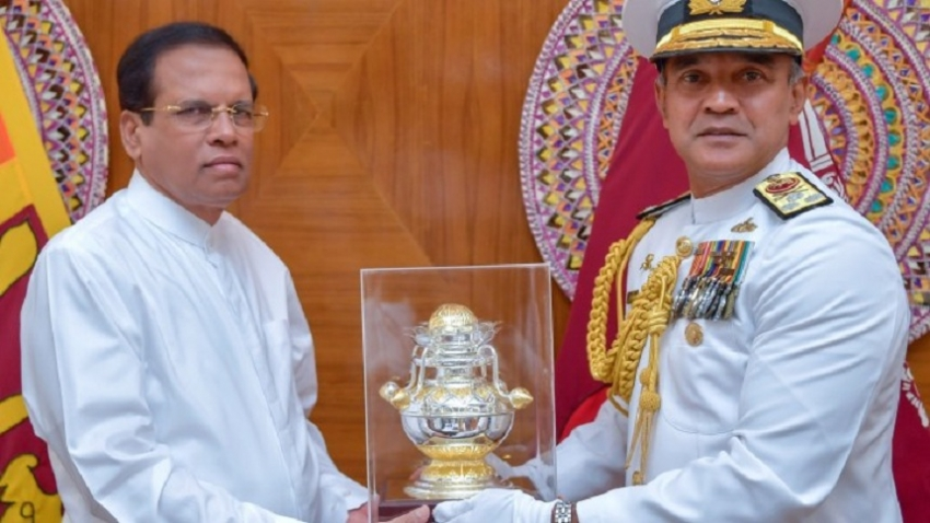 New Navy Commander calls on President
