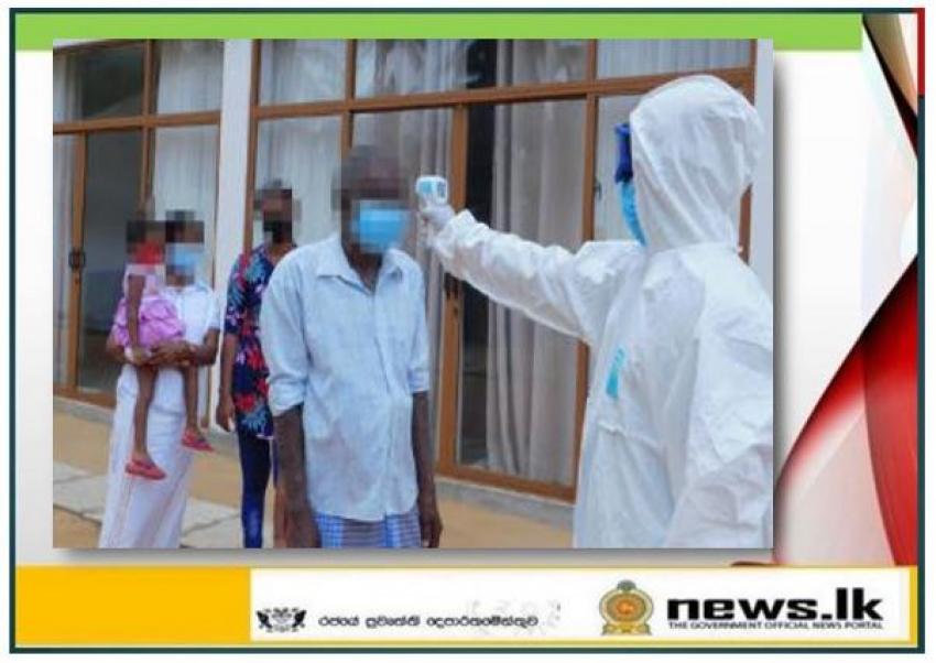 Six (06) inmates leave Naval quarantine centers