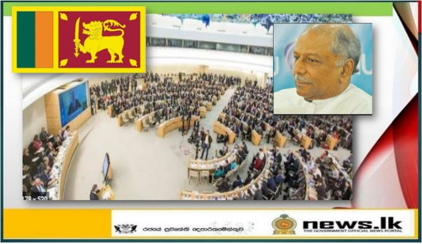 FOREIGN MINISTER DINESH GUNAWARDENA ARRIVES IN GENEVA TO ATTEND THE HUMAN RIGHTS COUNCIL SESSION