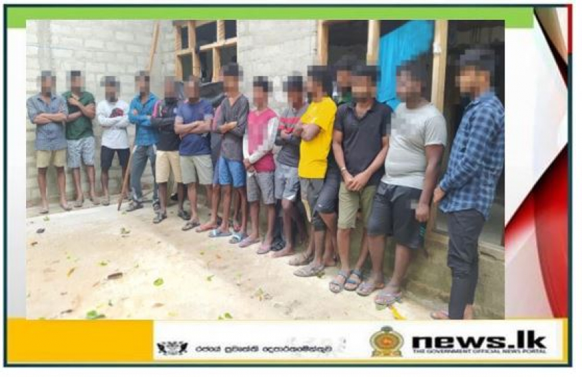 Navy thwarts illegal immigration attempt; 30 persons held in Chilaw