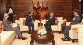 Air Chief Marshal Sohail Aman called on the Prime Minister