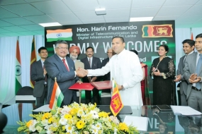 India - Sri Lanka ink MoU on Information Technology