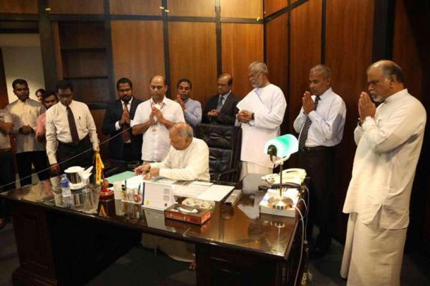Dinesh Gunawardena assumes office as Leader of the House