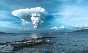 Evacuations underway as PHIVOLCS raises Alert Level 3 over Taal Volcano