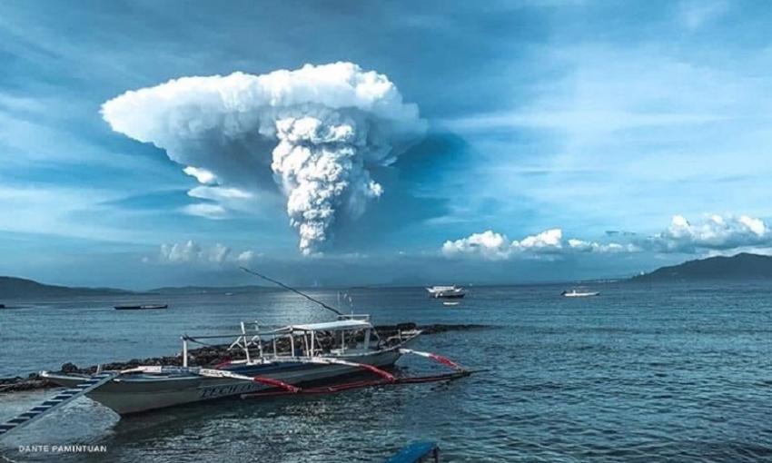 Evacuations underway as PHIVOLCS raises Alert Level 3 over Taal Volcano