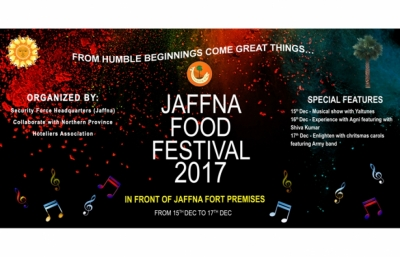 Jaffna Food Festival begins today