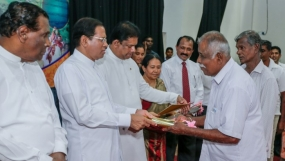 President distributed 1053 land deeds to the farmers