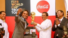 2018 FIFA World Cup Trophy handed over to President
