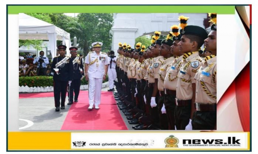 Vice Admiral Nishantha Ulugetenne felicitated by his Alma Mater