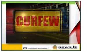 Curfew notice