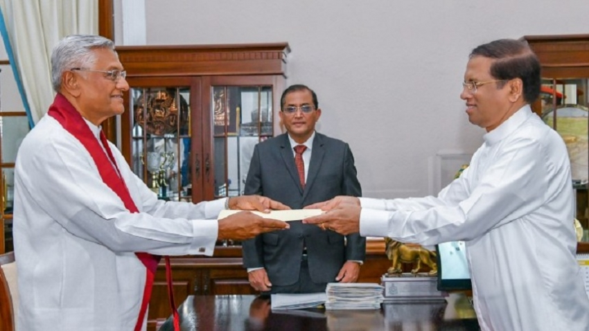 Two Cabinet Ministers and a State Minister Sworn in