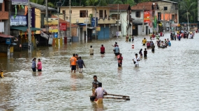 Over 100,000 affected: Death toll rises to 12,Rs.14.7 Mn for disaster relief