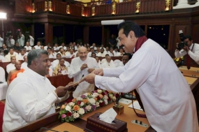 Prasanna and Shan take oaths as Chief Ministers