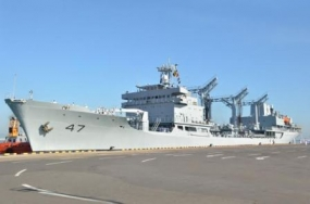 Two Pakistan Naval Ships arrive at the Port of Colombo