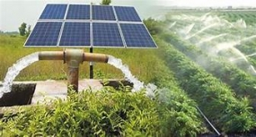 Solar-powered agricultural water supply to Mahaweli farmers