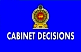Decisions taken by the Cabinet of Ministers at the meeting held on 09-09-2015
