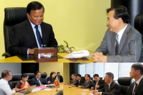 High level delegation from Shanghai visits BOI