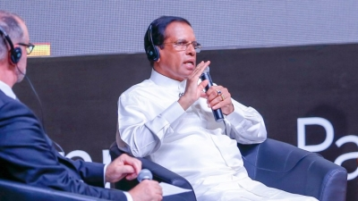 Lanka has taken steps to break the link with power and corruption  President tells Global Summit